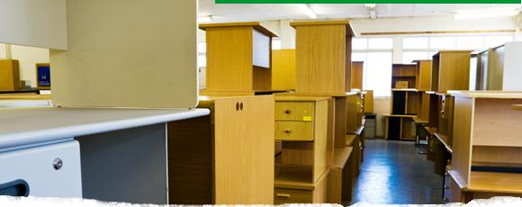 Recogida de mobiliario de oficina