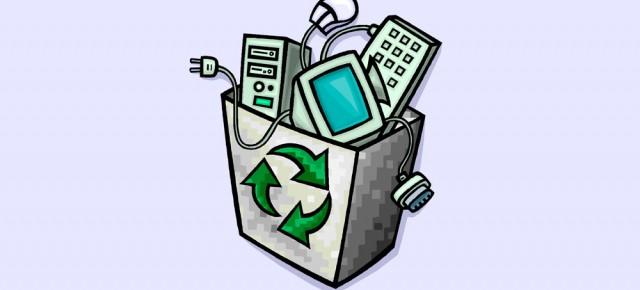 Aumenta la recuperación de residuos electrónicos