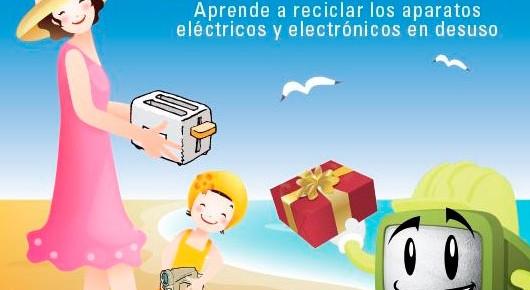 Ecovitrum promueve el reciclaje de RAEE