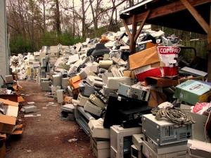 reciclaje residuos electrónicos